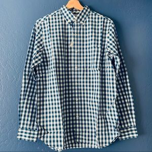 NWT Old Navy The Classic Plaid Long Sleeve Shirt S